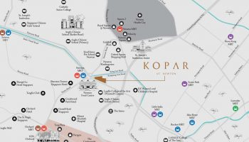 kopar-at-newton-location-map